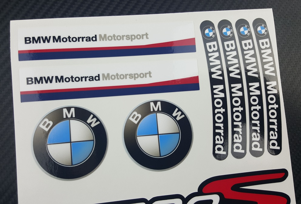 Madmotographicscom - Bmw motorcycle stickers and decals
