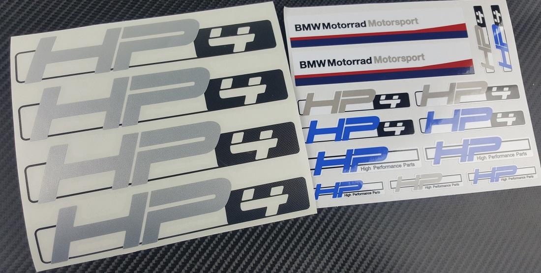 Madmotographicscom - Bmw motorrad motorsport decals